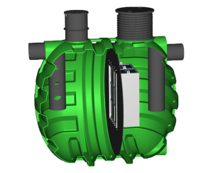 Separator s filterom